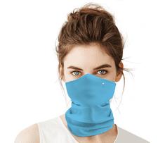 Antivirový nanošátek Swarovski v jarní edici modrý