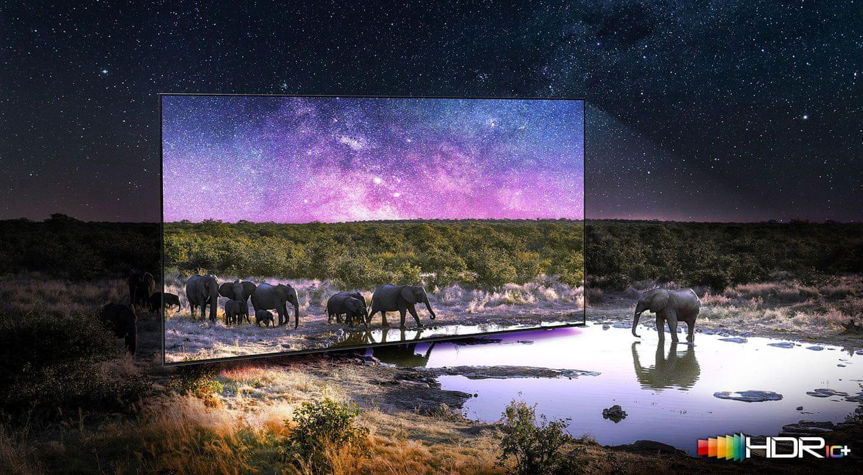 samsung tv televize qled 4K 2021 quantum hdr 1500 hdr10+