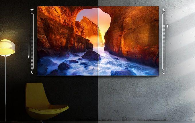 samsung tv televize qled 4K 2021 adaptivní obraz
