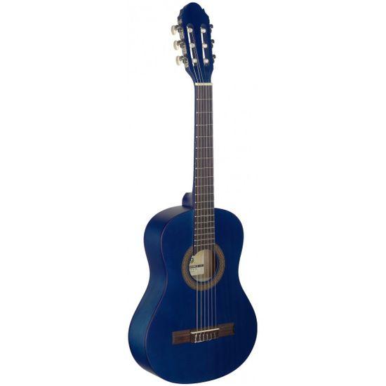 Stagg C410 M BLUE, klasická kytara 1/2, modrá