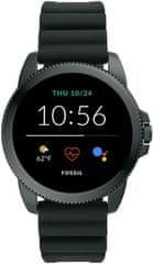 Fossil FTW4047 Gen5E Smartwatch M Black Silicone