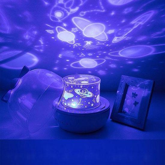 Netscroll 2 v 1 dinamičen projektor in svetilka s 6 različnimi vzorci, MagicLamp