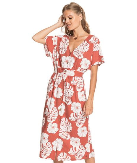 Roxy Ženska obleka Sunny Memories Slub ERJWD03562-MPD6