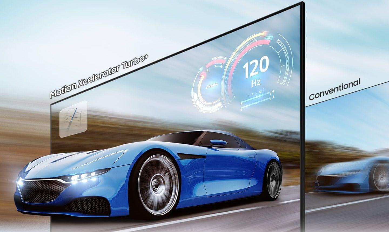 samsung tv televízor qled 2021 4K smart Motion Xcelerator Turbo+ AMD FreeSync Premium Pro