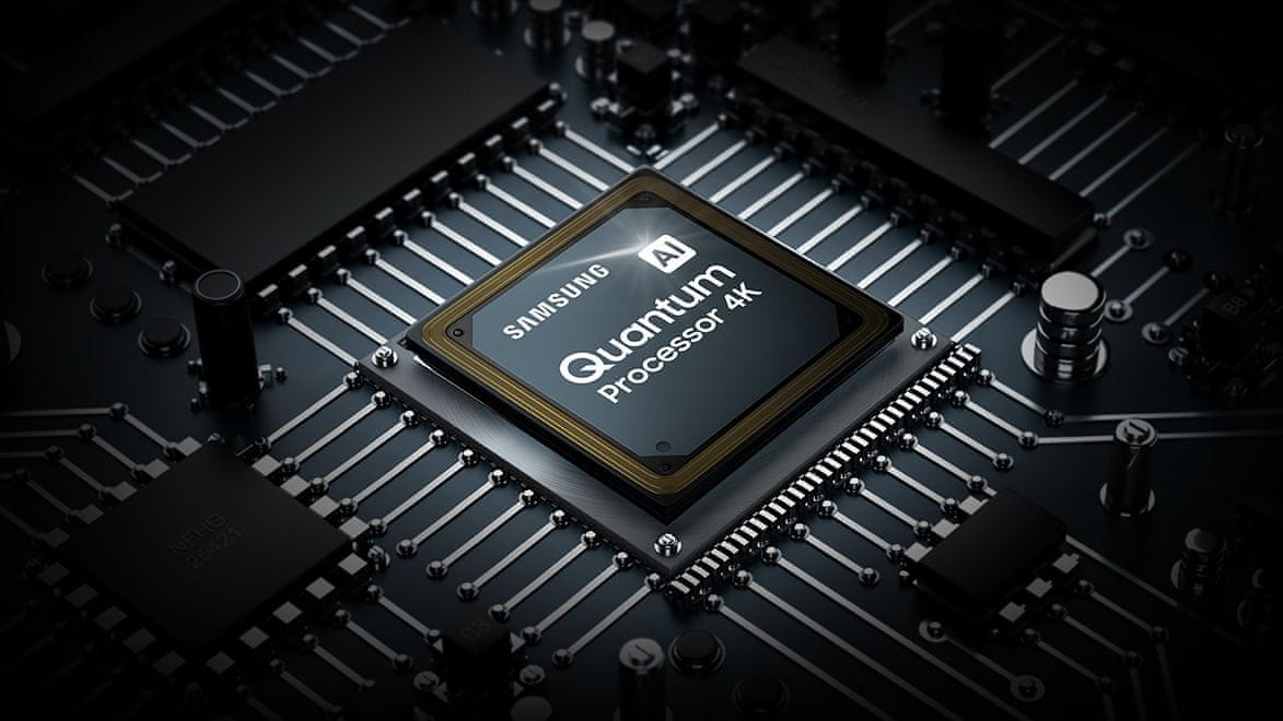 samsung tv televízor qled 4K 2021 quantum processor 4k