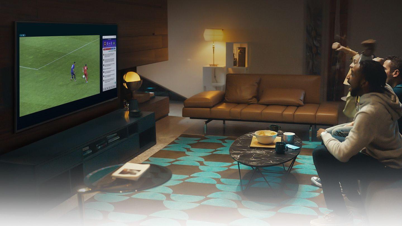 samsung tv televízor qled 2021 4K smart multi view