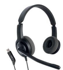 Axtel Naglavna slušalka Voice USB28 duo NC