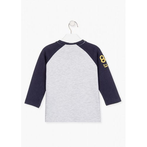 Losan Chlapčenské tričko s potlačou dvojfarebné LOSAN-LOSAN