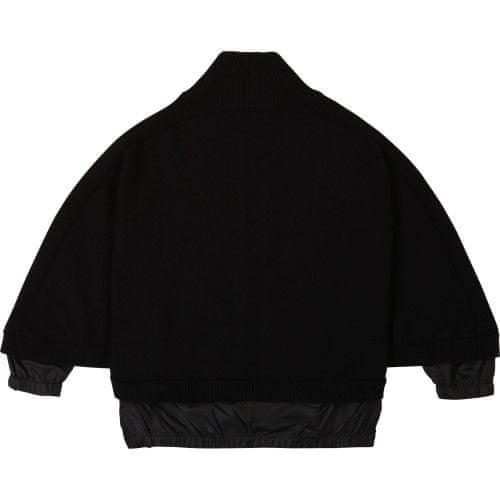 DKNY Dievčenská pelerína čierne DKNY-DKNY