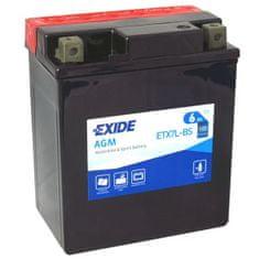 Exide | Motobaterie EXIDE ETX7L-BS 12V 6Ah 100A