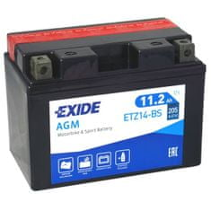 Exide | Motobaterie EXIDE ETZ14-BS 12V 11,2Ah 205A