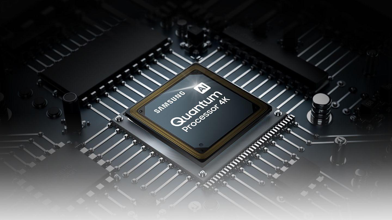 samsung tv televize edge led 4K 2021 quantum processor