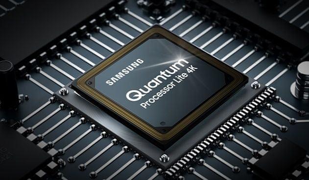samsung tv televize edge led 4K 2021 Quantum Processor Lite 4K Upscaling synchronizace optimalizace