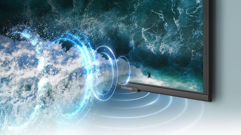 samsung tv televize edge led 4K 2021 OTS Lite zvuk