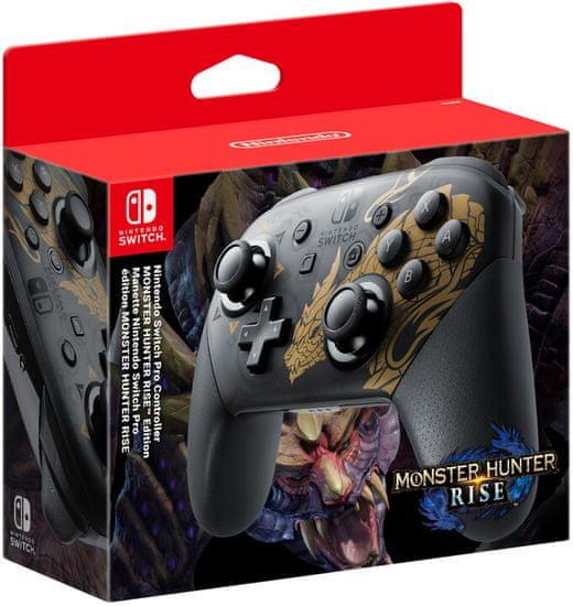 Nintendo Switch Pro Controller Monster Hunter Rise (NSP147)