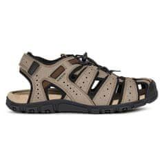 Geox Moški sandali Uomo Sandal Strada U6224B-0AU50-C6088 (Velikost 43)