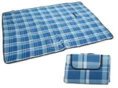 WERK Pikniková deka se spodní nepromokavou vrstvou 150x200cm, modrá T-028-MO