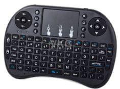 WERK Bezdrátová MINI Bluetooth klávesnice, černá E-230