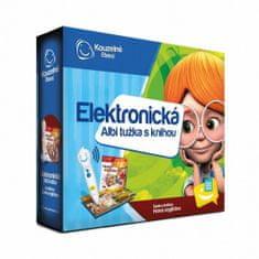 Elektronická Albi tužka s knihou Hravá angličtina - Zábavná interaktivní učebnice