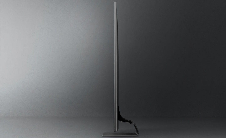 samsung tv televize qled 2021 4K smart tenký 27 mm neoslim design one connect box