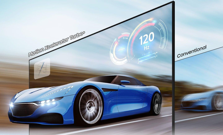 samsung tv televize qled 2021 4K smart Motion Xcelerator Turbo+ AMD FreeSync Premium Pro