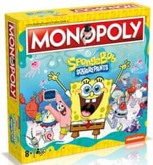 Winning Moves Monopoly Spongebob SquarePants Anglická verzia