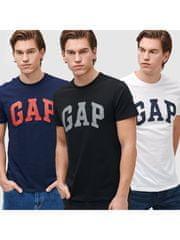 Gap Tričko Logo basic arch, 3ks XS