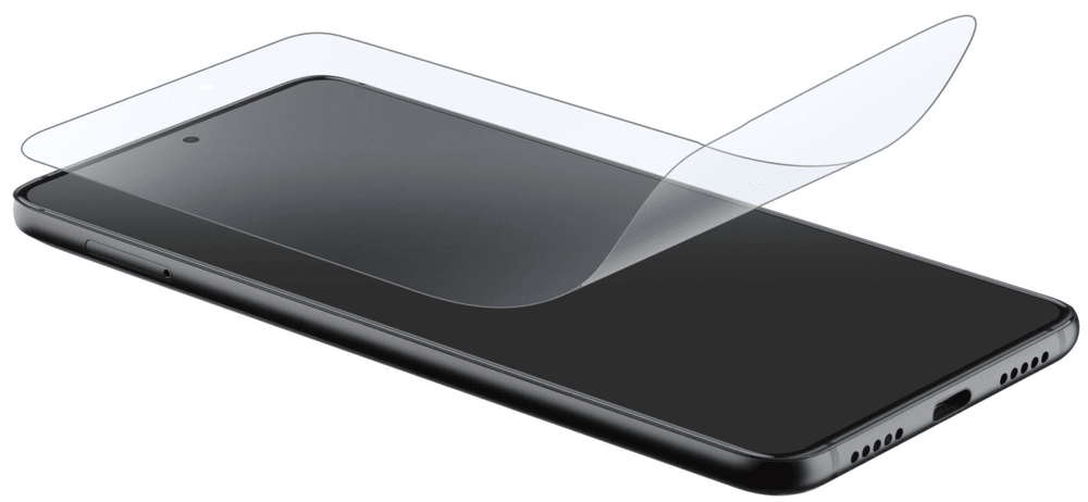 CellularLine Ochranná fólie displeje OK Display pro Samsung Galaxy S21 Ultra SPCURVEDGALS21U