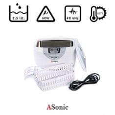 ASonic Home 2500 ultrazvočni čistilec