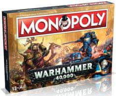 Winning Moves Monopoly Warhammer 40000 Anglická verze