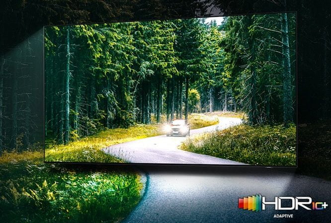 samsung tv televize qled 8K 2021 quantum hdr 2000 hdr10+