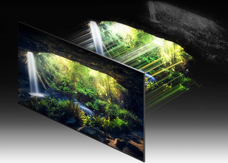 samsung tv televize qled 8K 2021 quantum matrix technology