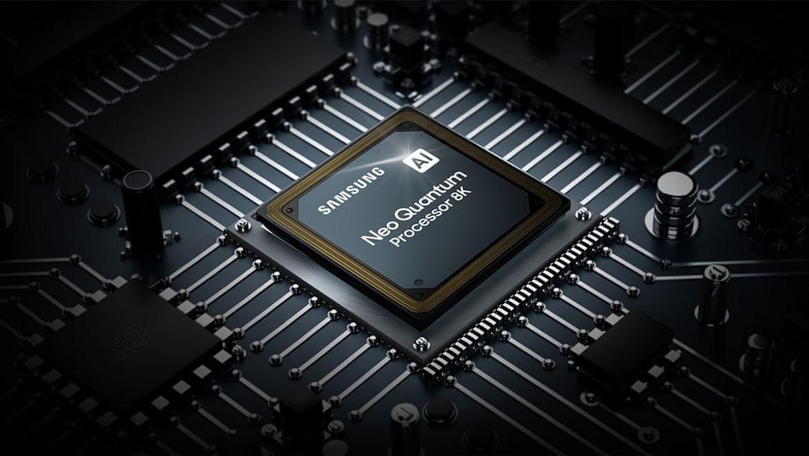 samsung tv televize qled 8K 2021 neo quantum processor 8K AI upscaling