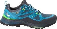 Jack Wolfskin Force Striker Texapore Low moški pohodniški čevlji, modro-zeleni, 42,5 - Odprta embalaža