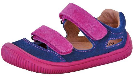 Protetika fantovski barefoot sandali Berg blue