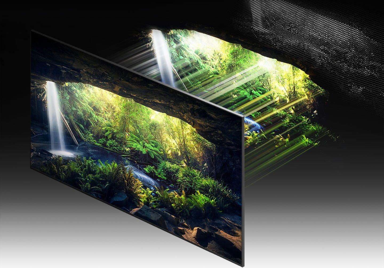 samsung telewizor qled 8K 2021 quantum matrix technology pro
