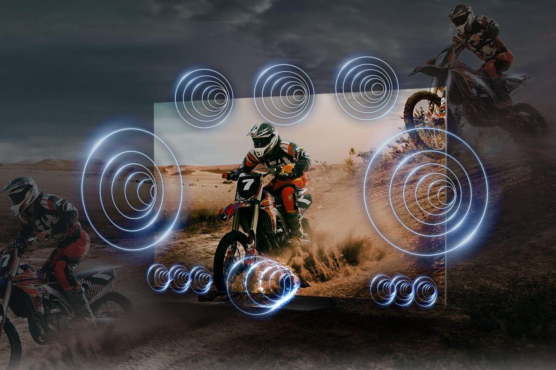 samsung telewizor qled 8K 2021 spacefit sound ots pro