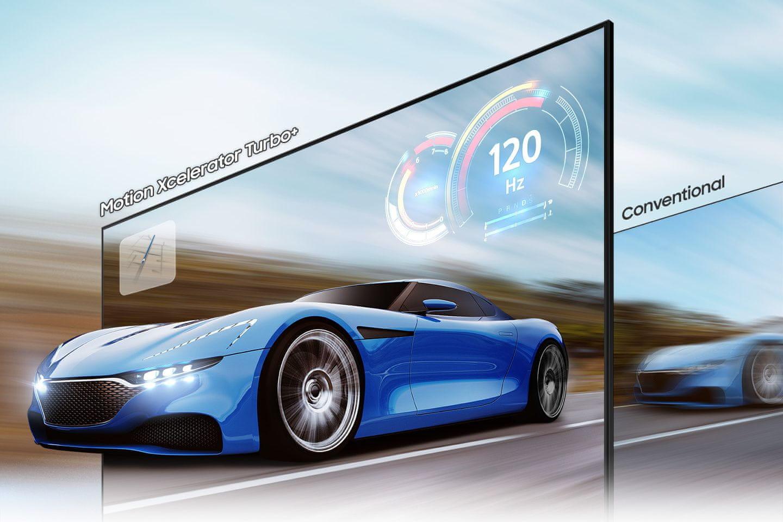 samsung telewizor qled 2021 8K smart Motion Xcelerator Turbo+ AMD FreeSync Premium Pro