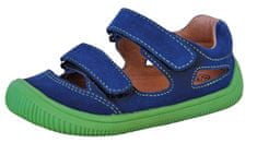 Protetika fantovski barefoot sandali Berg denim, 21, temno modri
