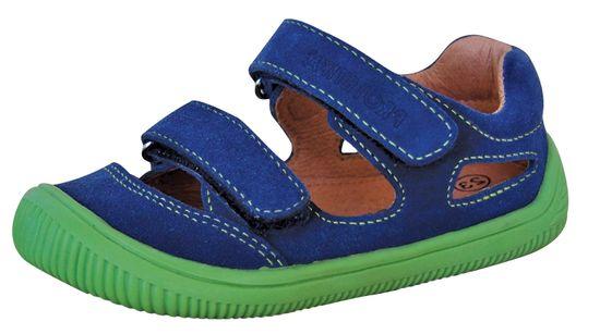 Protetika sandale za dječake barefoot Berg beige
