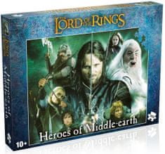 Winning Moves Puzzle The Lord of the Rings Heroes of Middlearth 1000 dílků