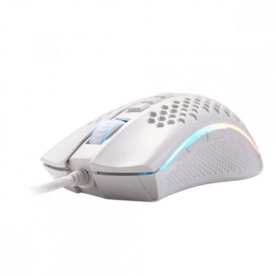 Redragon Storm M808W gaming miška, RGB, USB, bela