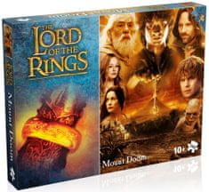Winning Moves Puzzle The Lord of the Rings Mount Doom 1000 dílků
