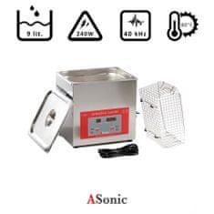 ASonic PRO 100 – 40kHz ultrazvočni čistilec