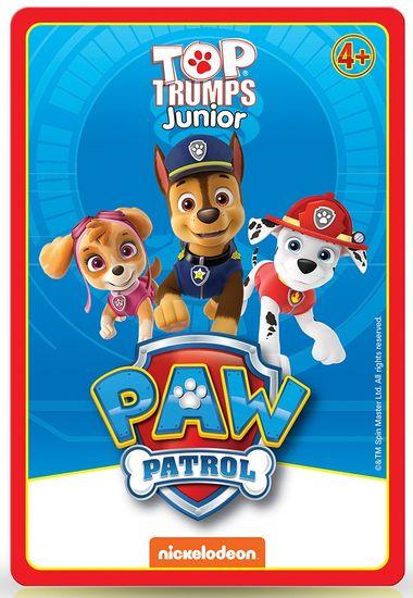 Winning Moves Bádogdobozos Top Trumps kártya - Paw Patrol