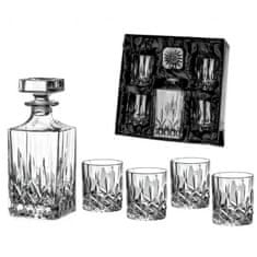 Diamante Diamante whisky set se saténem Dorchester 1+4