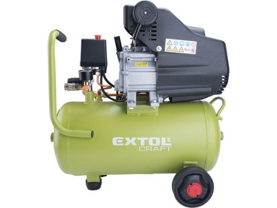 Extol Craft kompresor olejový, 24l