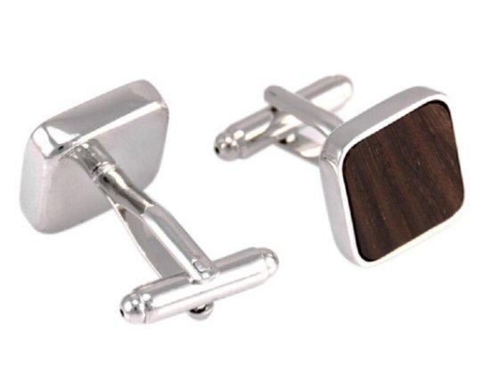 Gaira® Drevené manžetové gombíky 709114