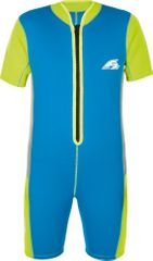 F2 Shorty haljina, dječja, neopren, 2 mm, plavo-zelena, 4 godine