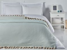 Denizli Concept Cienka narzuta na łóżko BALIKSIRTI kolor mentolu 200x240 cm.